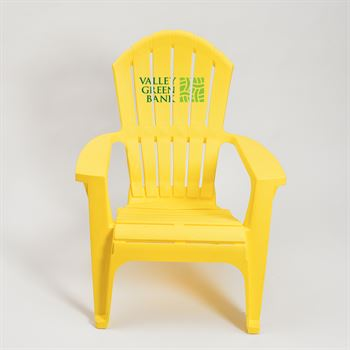 Plastic Adirondack Chair - Personalization Available