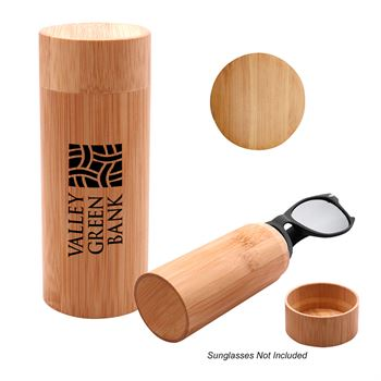 Bamboo Sunglass Case-Personalization Available