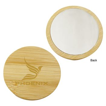 Bamboo Mirror- Personalization Available