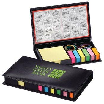 Deluxe Memo Pad Desk Organizer - Personalization Available