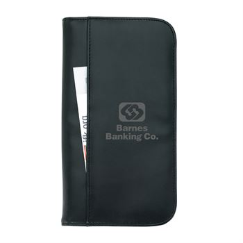 Travel Zippered Wallet - Personalization Available
