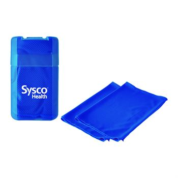 Cooling Towel in Plastic Case - Personalization Available