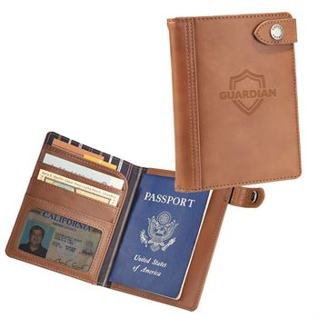Cutter and Buck Legacy Passport Wallet - Personalization Available