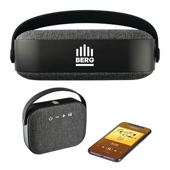 Woven Fabric Bluetooth Speaker - Personalization Available