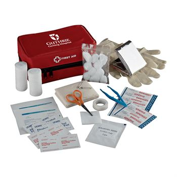 StaySafe 42-Piece Travel First Aid Kit - Personalization Available