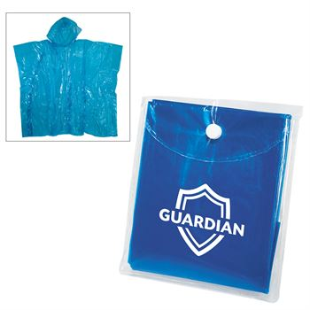 Rally disposable Poncho - Personalization Available