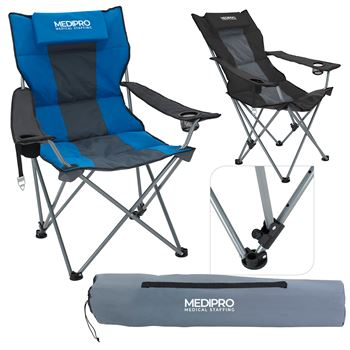 Premium Stripe Reclining Chair - Personalization Available