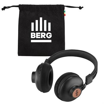 Marley Positive Vibrations Bluetooth Headphones - Personalization Available