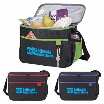 Koozie® Lunch Bag With Adjustable Shoulder Straps - Personalization Available