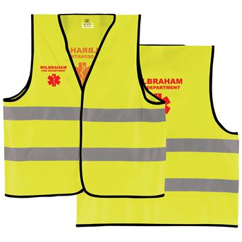 Reflective Safety Vest - Personalization Available