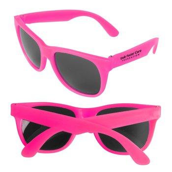 Fuscia Sunglasses - Personalization Available