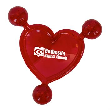 Heart Shaped Massager - Personalization Available