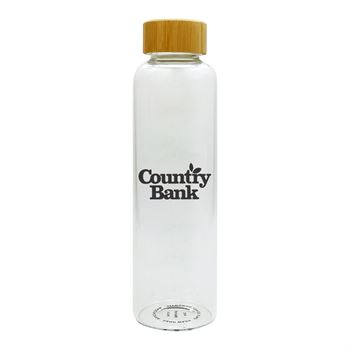 Conroy Glass Bottle 20 oz - Personalization Available