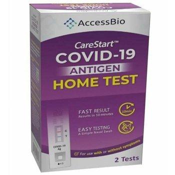 CareStart™ Non-Invasive COVID-19 Antigen Home Test - Pack of 2