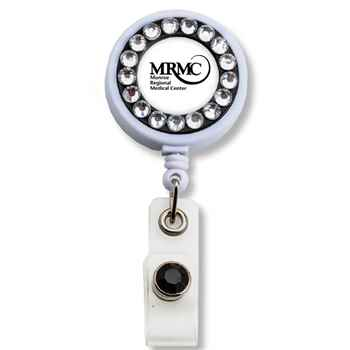 Bling Ring Badge Holder - Personalization Available