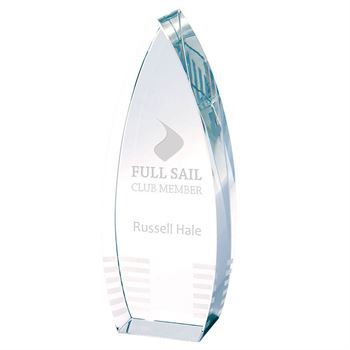 Crystal Tower Award - Personalization Available