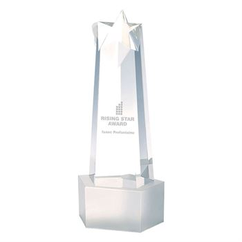 Rising Star Tower Award - Personalization Available