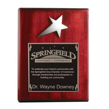 Choose from a wide selection of personalized plaques to show your appreciation