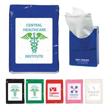 Mini Tissue Packet - Personalization Available