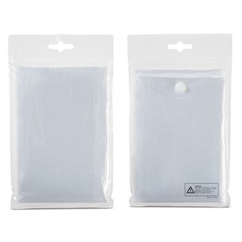 Disposable Rain Poncho - Personalization Available