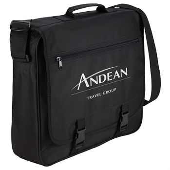 The Anchorage Messenger Bag - Personalization Available