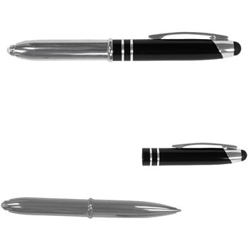 Executive 3-in-1 Metal Pen/Stylus With LED - Personalization Available