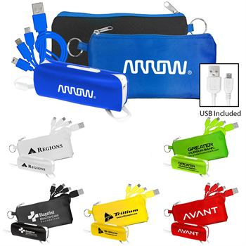 Power Bank and Cord Set - Personalization Available