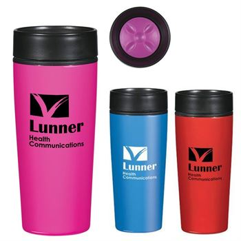 Stainless Steel Glossy Tumbler 14-oz. - Personalization Available