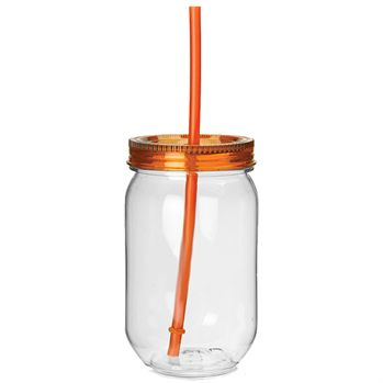 Fiesta Mason Jar Tumbler - Personalization Available