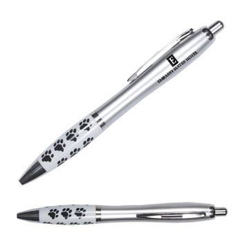 Emissary Paw Print Click Pen - Personalization Available