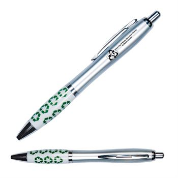 Emissary Recycle Symbol Click Pen - Personalization Available
