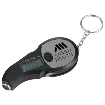 3-In-1 Digital Portable Tire Gauge - Personalization Available