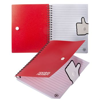 Thumbs Up Notebook - Personalization Available