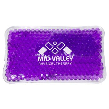 Mini Aqua Pearls Hot/Cold Pack - Personalization Available