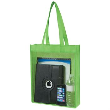 Non-Woven Clear View Tote Bag - Personalization Available