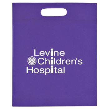 Heat Sealed Non-Woven Exhibition Tote - Personalization Available