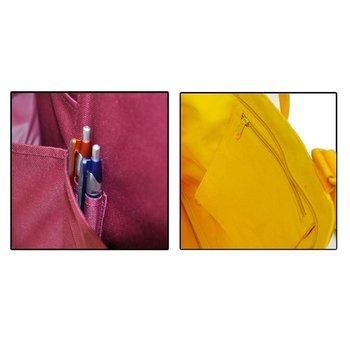 Multi-Pocket Zipper Tote