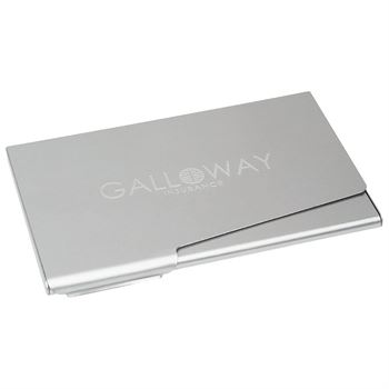 Business Card Holder - Laser-Engraved Personalization Available