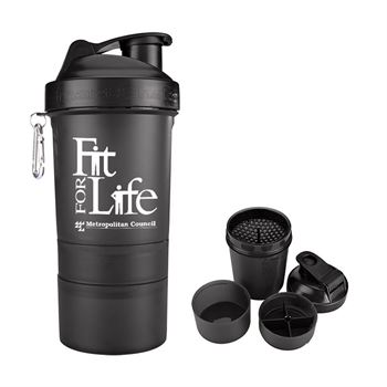 SmartShake™ Original Compartment Fitness Shaker 20-oz. - Personalization Available