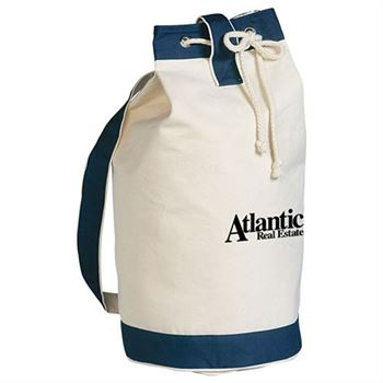 Heavy Canvas Cotton Boat Tote - Personalization Available
