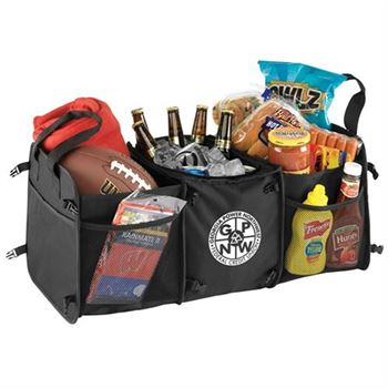 Tailgater Trunk Cooler Organizer - Personalization Available