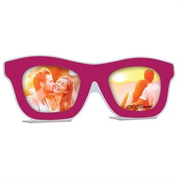 Pink Sunglasses Photo Frame - Personalization Available