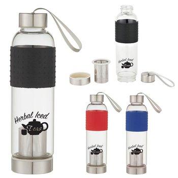 Glass Tea Infuser Sports Bottle