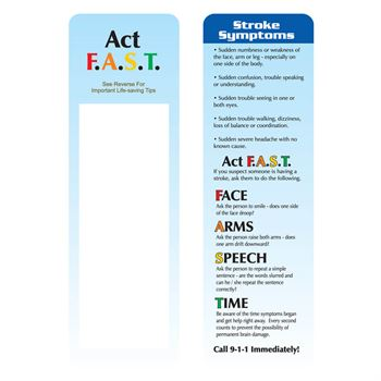 Full Color Bookmark