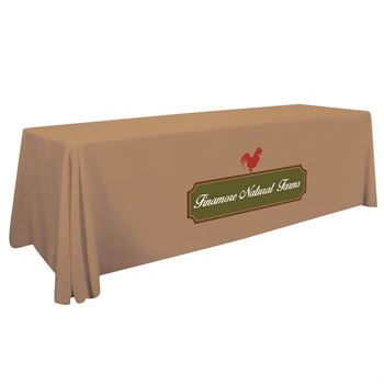 8' Standard Table Throw - Personalization Available