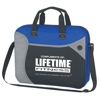 Wave Briefcase/Messenger Bag - Personalization Available