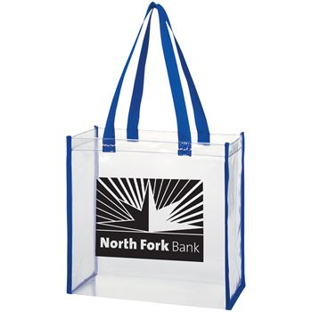 Clear Open Top Tote - Personalization Available