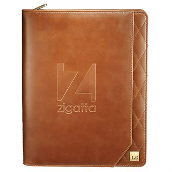 Cutter & Buck® Bainbridge Zippered Padfolio - Personalization Available