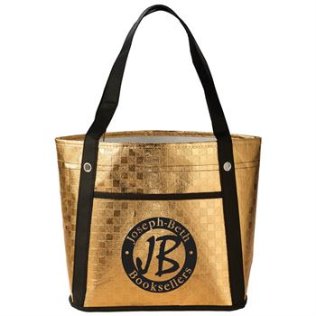 Metallic Mini Gift Tote - Personalization Available