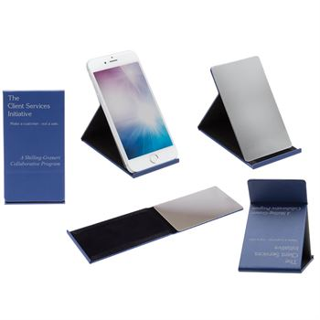 Deluxe Phone Stand With Mirror - Personalization Available